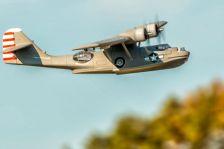 Catalina PBY Amphibienflugzeug auf dem Modellflugplatz
